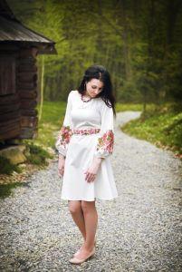Женские вышиванки Цветущий розмай