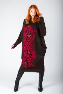 Сукня в стилі бохо
