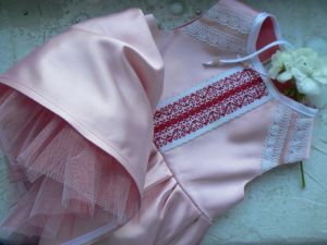 Платье праздничное 0-12 мес