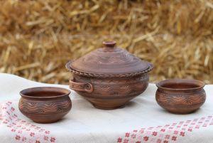 Керамика ручной работы Набор для вареников