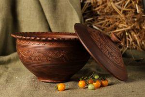 Ceramics Макітра з кришкою
