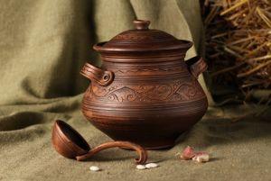 Ceramics Баняк для борща та супа