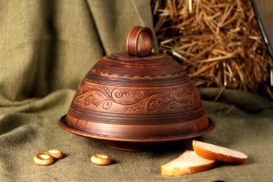 Керамика ручной работы Хлебница