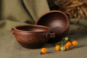 Ceramics Мисочки для першого з ручками