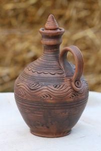 Керамика ручной работы Бутыль для вина