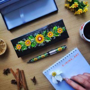 Аксесуари ручної роботи Подарункова ручка 4