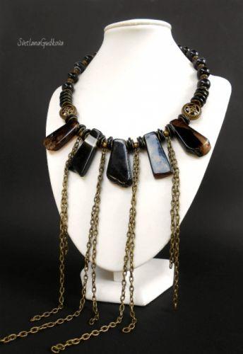 Ожерелье Черная Пантера - изображение 1