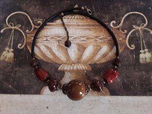 Ожерелья и колье ручной работы Шоколадное настроение