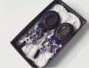 Серьги Фиолетовые с подвесками
