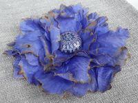 Брошь Фиолетовый бабочка