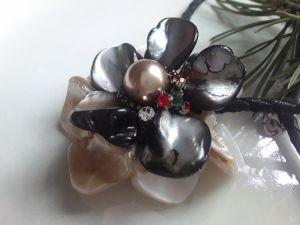 Кулоны ручной работы Волшебный цветок