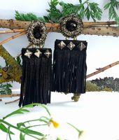Сережки-гвоздики Ноченька