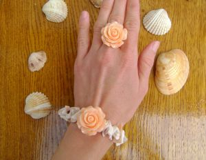 Комплект Пастельная роза