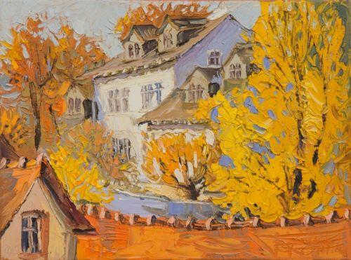 А за окном золотая осень