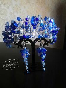 Хомідова Марія Прекрасний набір синього кольору