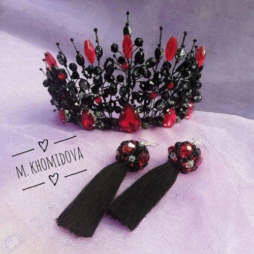 Шикарная черная корона