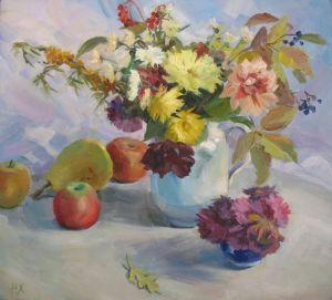 Храмова Надежда Осенние цветы