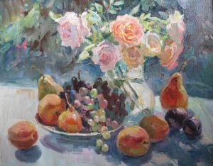 Храмова Надежда Розы и фрукты