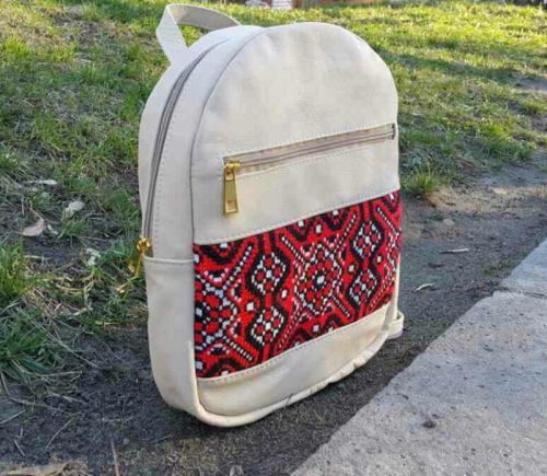 Рюкзак - ручная вышивка