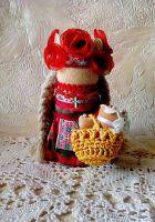 Пасхальная кукла мотанка