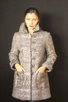 Пальто валяное, ручной работы