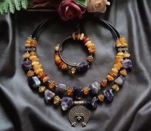 Ожерелья и колье ручной работы IRIS