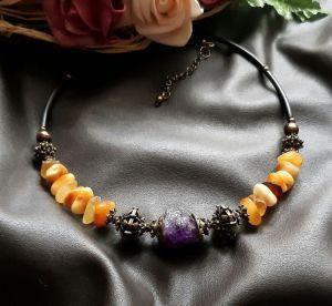 Ожерелья и колье ручной работы Moment