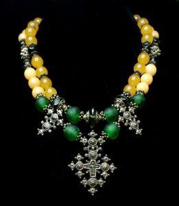Ожерелье ручной работы Ладислава
