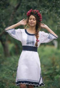 Клим Анна Платье женское ручная работа 3