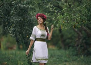 Клим Анна Платье женское ручная работа 6