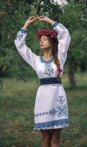 Клим Анна Платье женское ручная работа 2