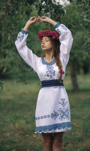 Платье женское ручная работа 2