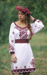 Платье женское ручная работа