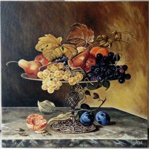 Кочержат Оксана Натюрморт с фруктами