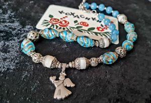 Ожерелье ручной работы Ангел