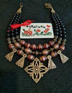 Ожерелье ручной работы Шальная