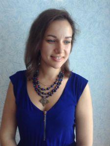 Ожерелье из лазурита Ожерелье из синего лазурита