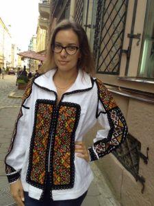 """Женские вышиванки Рубашка """"Гуцулка Ксения"""""""