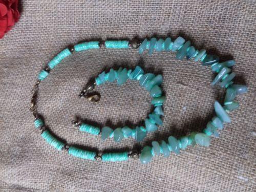 Ожерелье из зеленого нефрита