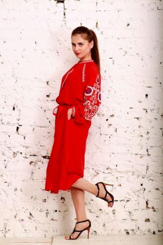 Купити Вишита сукня - WL4003 DVAC19 на UkrainArt 609c24365f8d6