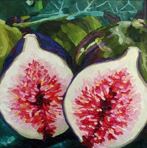 Спелые ягоды инжира