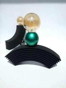 Лампи Дерев`яний набір настільних ламп.Сучасне освітлення ручної роботи. Оригінальний дизайн ламп. Світильники. Ідея на подарунок