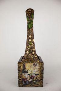 Декор для дому Декоративний короб для вина