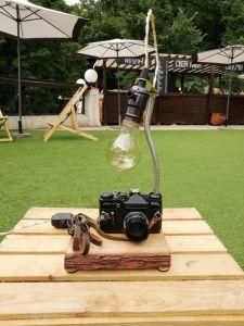 Lamps НАСТІЛЬНА ЛАМПА PRIDE&JOY CAMERA LAMP 03GL