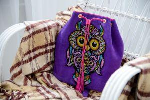 Мастерская Творческая Сова Сумка рюкзак Самая мудрая