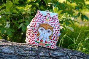 Мастерская Творческая Сова Детская сумочка рюкзак Совенок