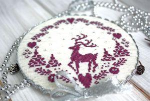 Разное Елочная подвеска олень Новогоднее украшение на елку в скандинавском стиле