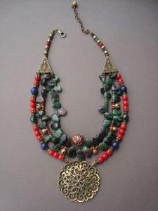 Ожерелья и колье ручной работы Атлантида