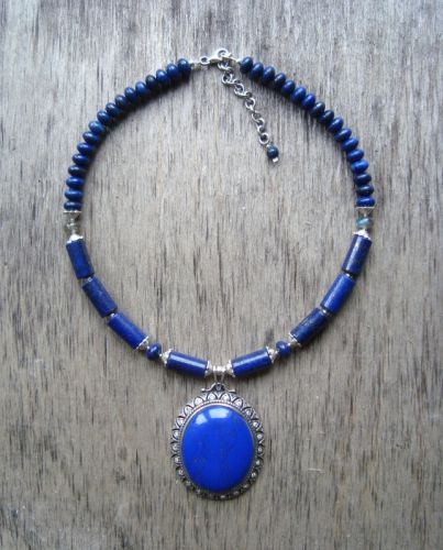 Синее ожерелье