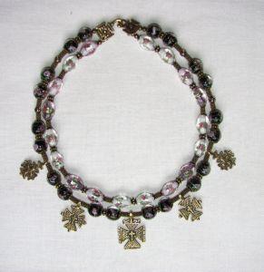 Ожерелье с крестами